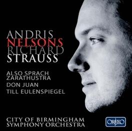 ALSO SPRACH ZARATHUSTRA/D CITY OFBIRMINGHAM S.O./ANDRIS NELSONS R. STRAUSS, CD