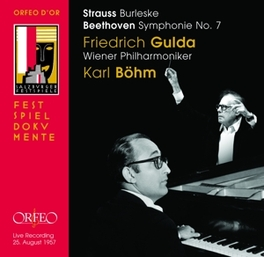 BURLESKE/SYMPHONY NO.7 WIENER PHILHARMONIKER/KARL BOHM/GULDA Audio CD, STRAUSS/BEETHOVEN, CD