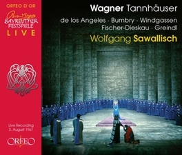 TANNHAUSER DE LOS ANGELES/BUMBRY/WINDGASSEN R. WAGNER, CD