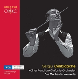 COLOGNE BROADCASTS KOLNER RUNDFUNK-SYMPHONIEORCHESTER//CELIBIDACHE, S. Audio CD, KOLNER RUNDFUNK-SYMPHONIE, CD