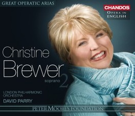 CHRISTINE BREWER VOL.2 LONDON PHILHARMONIC ORCHESTRA Audio CD, MOZART/GLUCK/WAGNER, CD