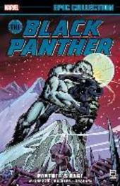 Black Panther Epic Collection. Panther's Rage, Don McGregor, Paperback