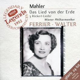 DAS LIED VON DER ERDE W/KATHLEEN FERRIER, JULIUS PATZAK, WP, BRUNO WALTER Audio CD, G. MAHLER, CD