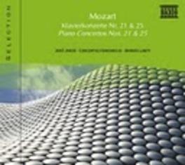 PIANO CONCERTOS NO.21 JENO JANDO W.A. MOZART, CD