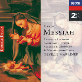 MESSIAH W/A.S.M.I.F., NEVILLE MARRINER Audio CD, G.F. HANDEL, CD