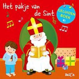 Geluidenboek Het pakje van de sint (rood). onb.uitv.