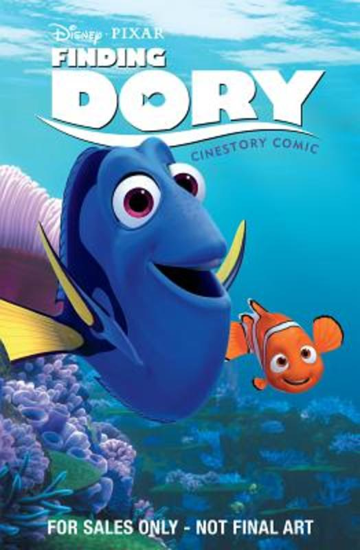 Disney-Pixar Finding Dory Cinestory Comic Disney, Paperback