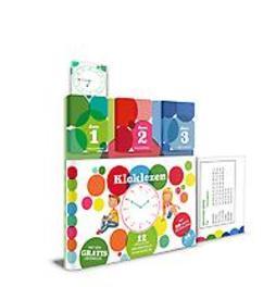 Klokklezen - 12 spelletjes met gratis oefenklok. 12 spelletjes met gratis oefenklok, Herman, David, Hardcover