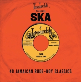 SKA -TREASURE ISLE.. .. PRESENTS 40 JAMAICAN RUDE BOY CLASSICS V/A, CD