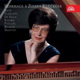 HOMMAGE A ZUZANA RUZICKOV CZECH P.O./SANDERLING/NEUMANN ZUZANA RUZICKOVA, CD