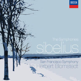 SYMPHONIES SAN FRANCISCO SYMPHONY/ BLOMSTEDT Audio CD, J. SIBELIUS, CD