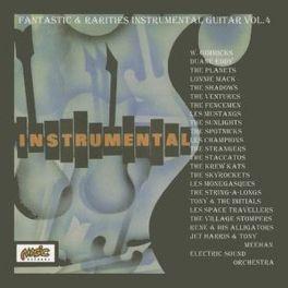 FANTASTIC & RARITIES.-4 .. 50'S & 60'S -4/W/JET HARRIS/VENTURES/SKYROCKETS/AO V/A, CD