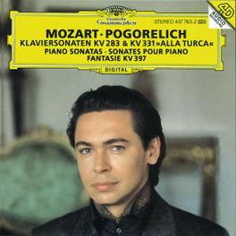 PIANO SONATAS KV 283,331 IVO POGORELICH Audio CD, W.A. MOZART, CD