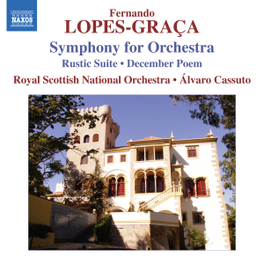 SYMPHONY FOR ORCHESTRA ROYAL SCOTTISH NAT.ORCHESTRA LOPES-GRACA, F., CD