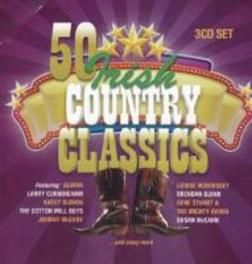50 IRISH COUNTRY CLASSICS FT. JOHNNY MCEVOY/GENE STUART/SUSAN MCCANN/A.O. V/A, CD