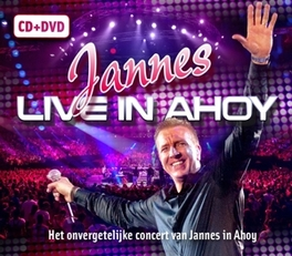 LIVE IN AHOY -CD+DVD-. JANNES, CD