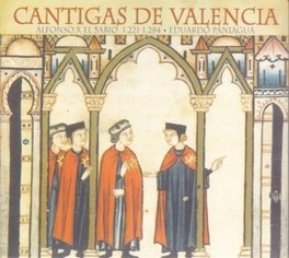 CANTIGAS DE VALENCIA WORKS BY ALFONSO EL SABIO Audio CD, EDUARDO PANIAGUA, CD