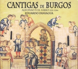 CANTIGAS DE BURGOS Audio CD, EDUARDO PANIAGUA, CD