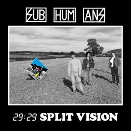 29:29 SPLIT VISION Audio CD, SUBHUMANS, CD