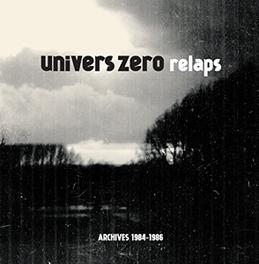 RELAPS (ARCHIVES '84-'86) COLOURED & CLEAR VINYL UNIVERS ZERO, Vinyl LP