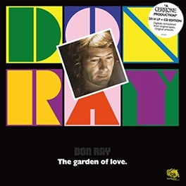DON RAY -.. -LP+CD- .. GARDEN OF LOVE CERRONE, Vinyl LP