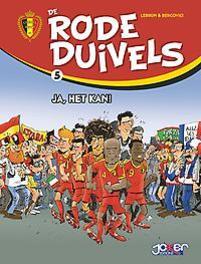 De Rode Duivels Humor 5 De Rode Duivels, Lebrun, Hardcover
