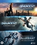 Divergent trilogy, (Blu-Ray) BILINGIAL //CAST: SHAILENE WOODLEY, THEO JAMES