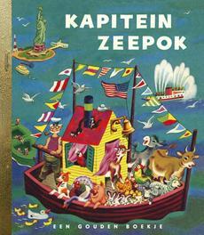 Kapitein Zeepok GOUDEN BOEKJES SERIE gouden Boekjes, KINDERBOEKEN, Book, misc