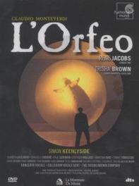 L'ORFEO CONCERTO VOCALE/RENE JACOBS DVD, C. MONTEVERDI, DVDNL