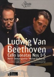 CELLO SONATAS PAL/ALL REGIONS/ W/H.DEMARQUETTE/M. DALBERTO DVD, L. VAN BEETHOVEN, DVDNL