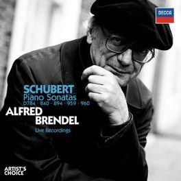PIANO SONATAS W/ALFRED BRENDEL Audio CD, F. SCHUBERT, CD