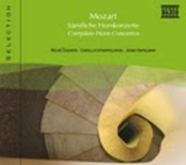COMPLETE HORN CONCERTO STEVOVE W.A. MOZART, CD