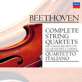 COMPLETE STRING QUARTETS QUARTETTO ITALIANO Audio CD, L. VAN BEETHOVEN, CD