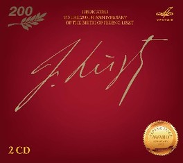 DEDICATED TO THE 200TH AN F. LISZT, CD