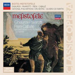 MEFISTOFELE NAT.PHIL.ORCHESTRA/OLIVIERO DE FABRITIIS Audio CD, A. BOITO, CD