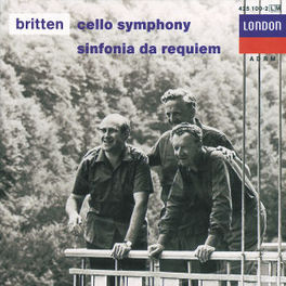 SYMPH.FOR CELLO&ORCH ECO/NPO/LSO/BRITTEN Audio CD, B. BRITTEN, CD