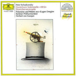 1812 OUVERTURE DON KOSAKKEN CHOR/BP/KARAJAN Audio CD, P.I. TCHAIKOVSKY, CD