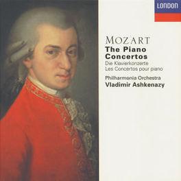 PIANO CONCERTOS ASHKENAZY Audio CD, W.A. MOZART, CD