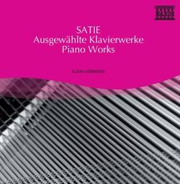 PIANO WORKS KLARA KORMENDI E. SATIE, CD