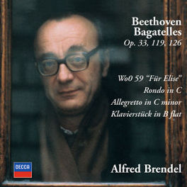 BAGATELLES BRENDEL Audio CD, L. VAN BEETHOVEN, CD
