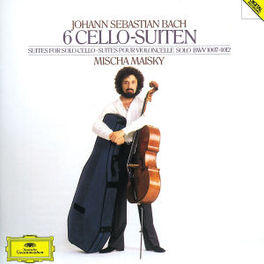 CELLO SUITES MISCHA MAISKY Audio CD, J.S. BACH, CD